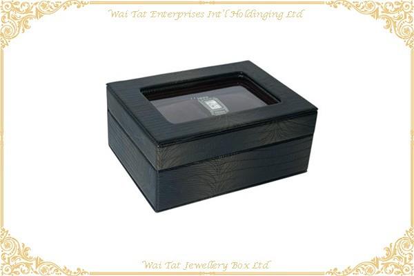 仿皮PU手錶膠盒