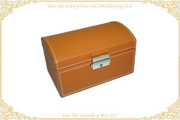 拱形仿皮PU手錶木盒