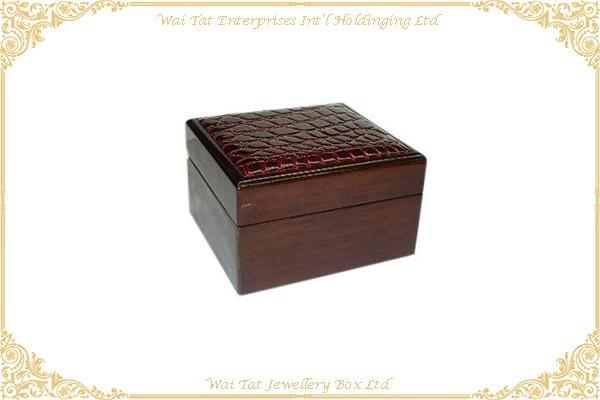 木紋噴油手錶木盒