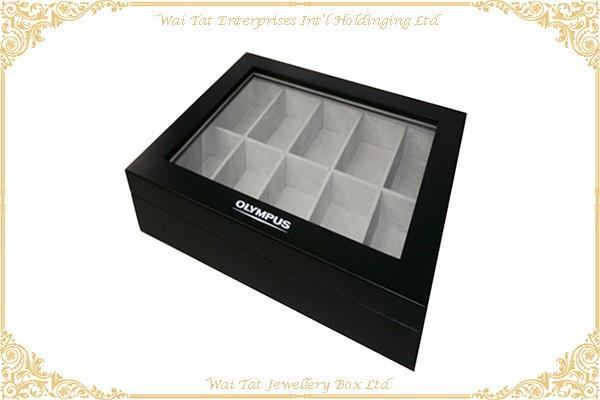 啞光噴油手錶木盒