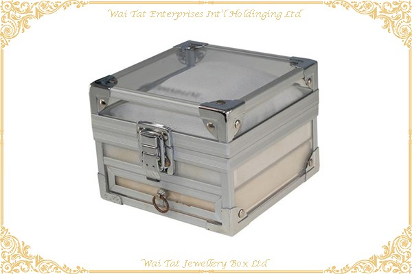 Aluminum Watch Box Jewellery Box Gift Box