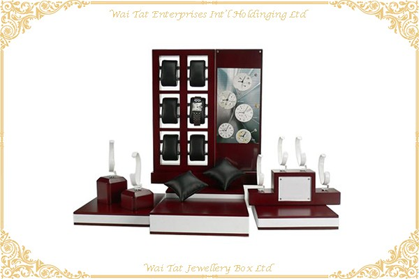 Wood (MDF) With Lacquer Display Stand