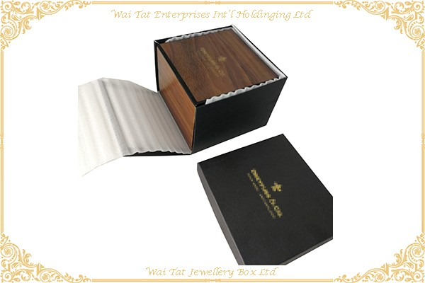 Wood (MDF) With Gloss Lacquer Watch Box