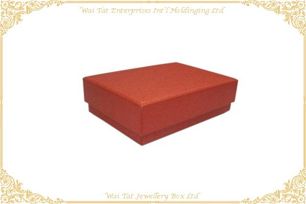 充皮紙包咭紙禮品盒