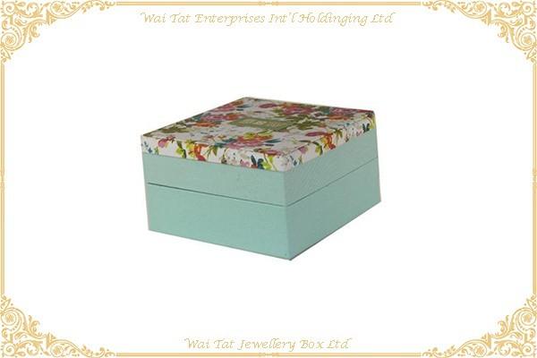 印花布包咭紙禮品盒