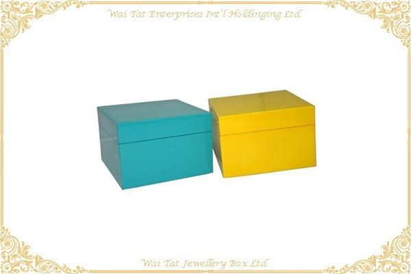 木(MDF) 噴光油禮品盒