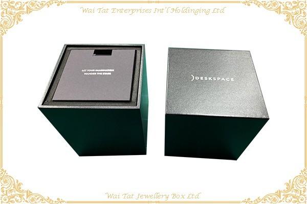充皮紙包木(MDF)禮品盒