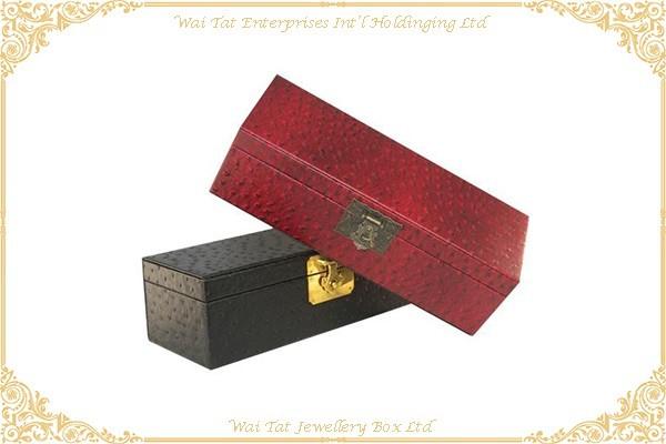 仿皮PU包木(MDF)酒盒