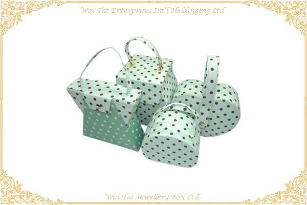 印花布包咭紙套裝禮品盒