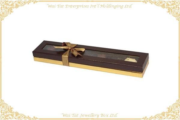 充皮紙包咭紙食品盒