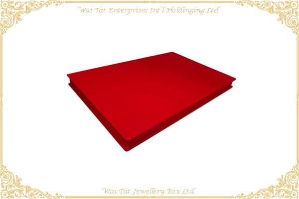 絨布包咭紙展示盘