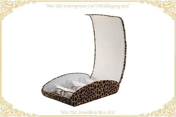 仿皮包咭紙眼鏡展示盒