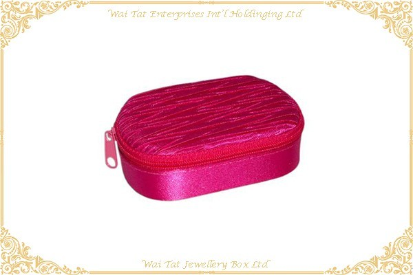 色丁布包咭紙唇膏盒