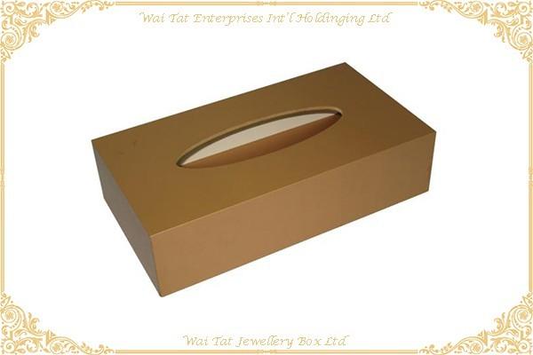 充皮紙包咭紙紙巾盒