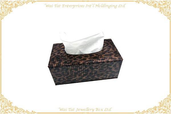 仿皮PU包咭紙纸巾盒