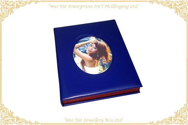 仿皮PU包中纖木板CD盒