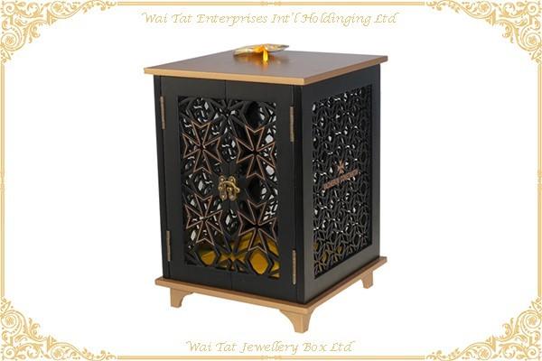 木 (MDF)+ 金屬 月餅盒