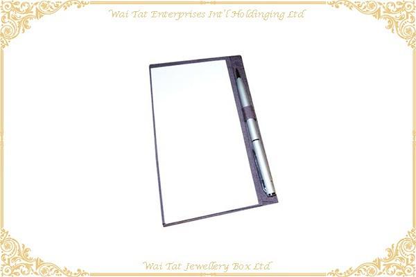 仿皮PU包咭纸寫字板
