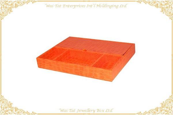 仿皮PU包木(MDF)文具盒