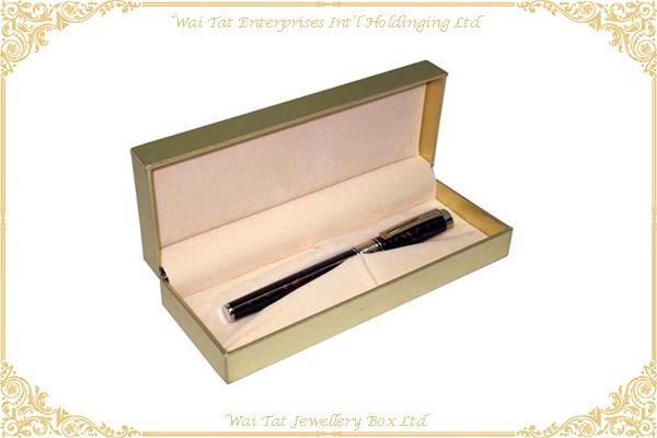 仿皮PU包塑膠筆盒