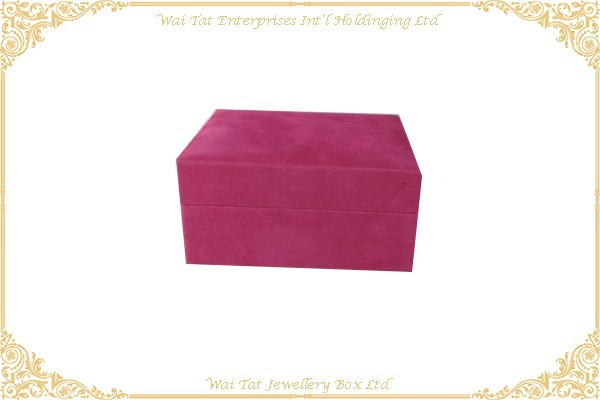 绒布首飾膠盒