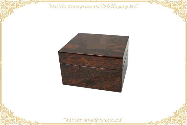 木紋高光噴油木(MDF)錶盒