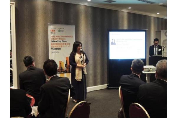 聯同香港貿易發展局成員往日本東京演講。
