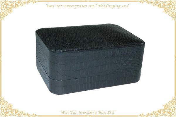 Vinyl Paper Wrapped Jewellery/Cufflinks Box