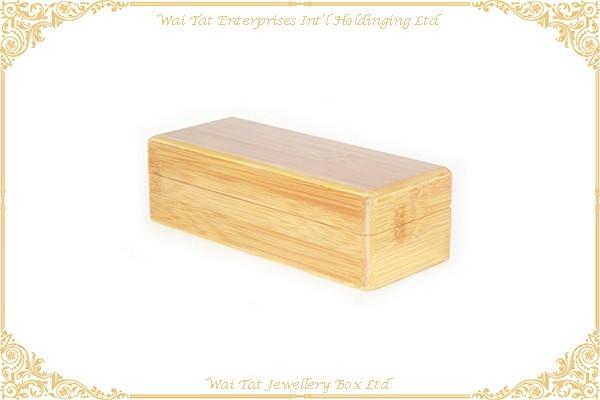 Bamboo Glassess Box With Velvet