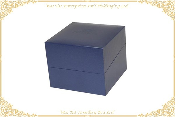 Vinyl Paper Wrapped Plastic Watch Box