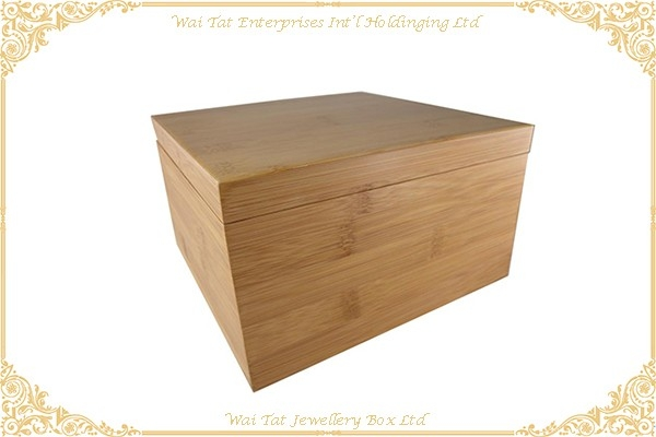 Bamboo Gift Box Jewellery Box