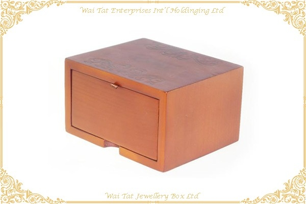 Real Wood Gift Box Cufflinks Box