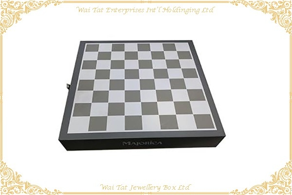 Wood (MDF) With Lacquer Chess Box