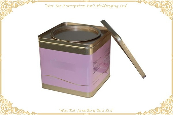 Tin Box For Gift Or Food Packaging