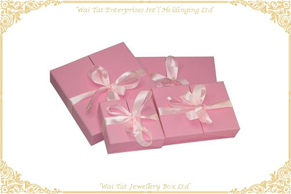 PU Wrapped Cardboard Gift Box Set
