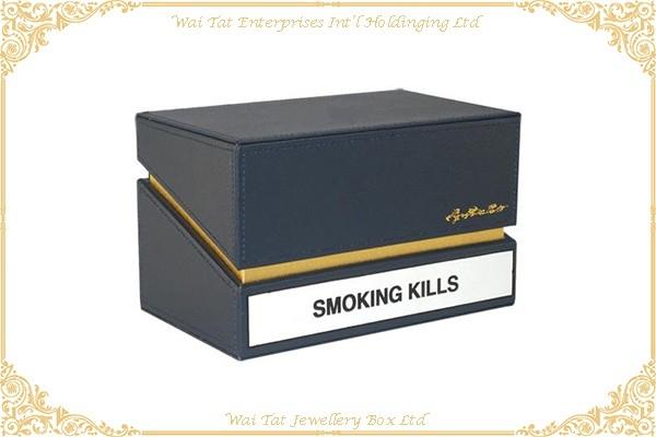 PU Wrapped Wood (MDF) Cigarette Box