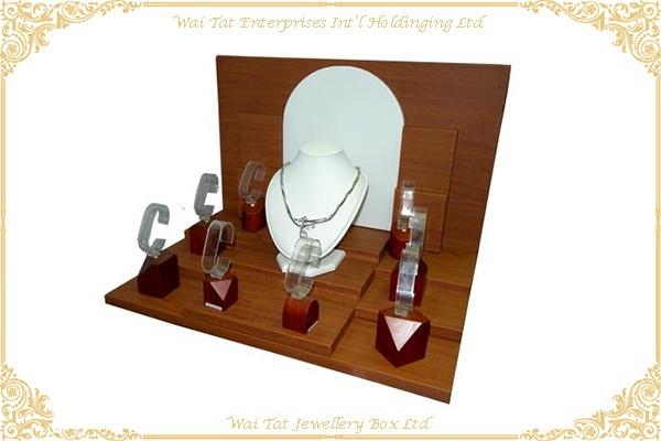 Wood (MDF) Jewellery Display Stand Set