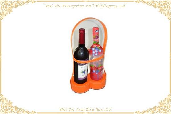 PU Wrapped Cardboard Wine Display Tray