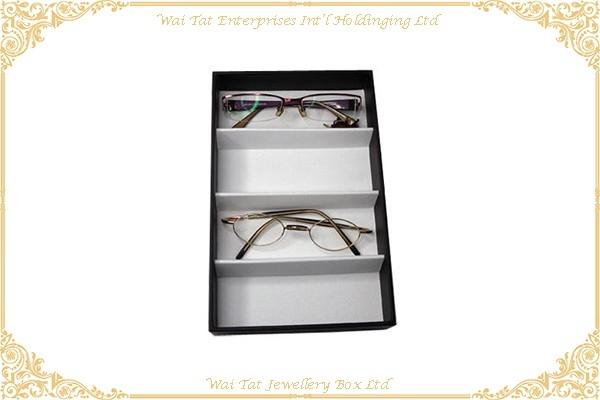PU Wrapped Cardboard Glass Display Box
