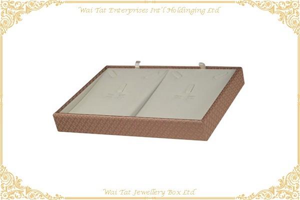 PU Wrapped Wood (MDF) Display Tray