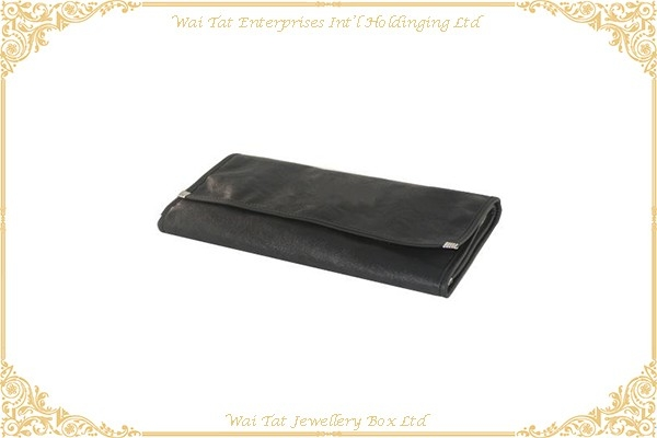 PU + Velvet Jewellery Roll Bag