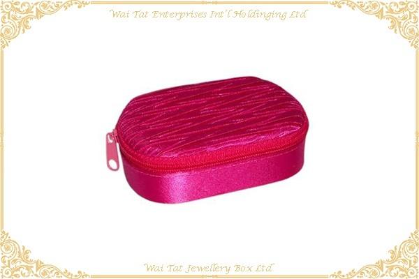 Satin Fabric Wrapped Cardboard Lip Stick Box