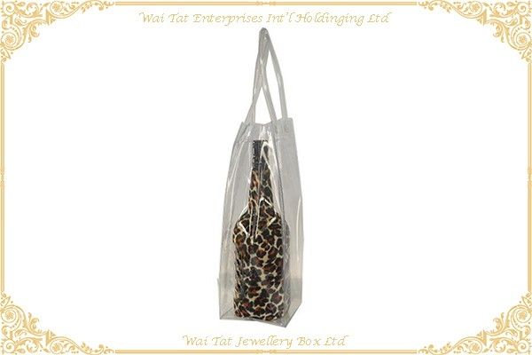 Transparent PVC Wine Bag