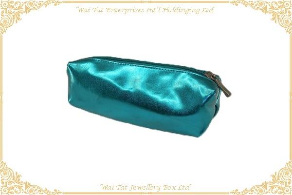 PU + Nylon Fabric Cosmetic Bag