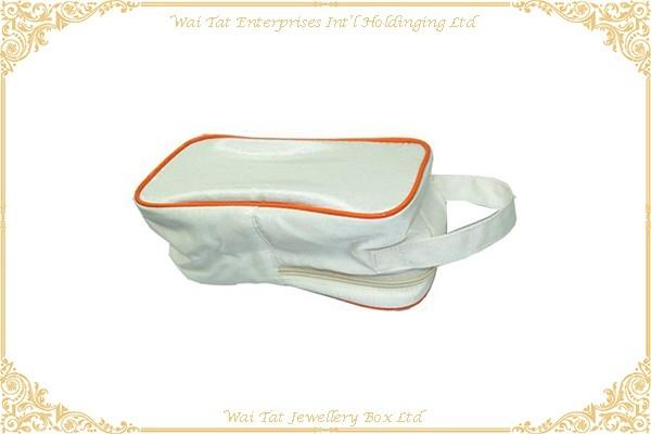 Nylon Fabric + PVC Cosmetic Bag