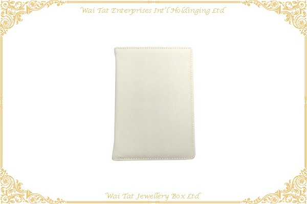 PU Wrapped Cardboard Passport Holder