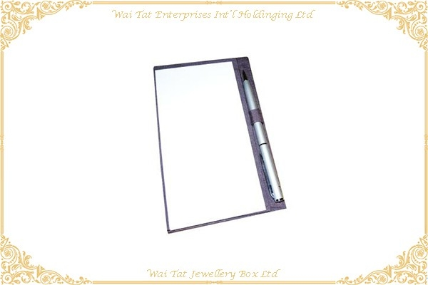 PU Wrapped Cardboard Writing Pad