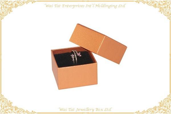 Vinyl Paper Wrapped Cardboard Cufflinks Box
