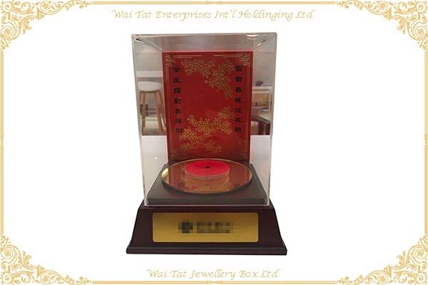 木(MDF)噴油轉盘音樂盒