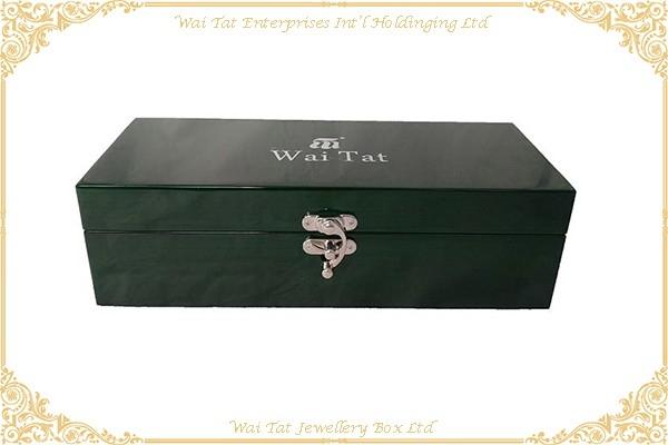 木紋高光噴油(MDF)酒盒